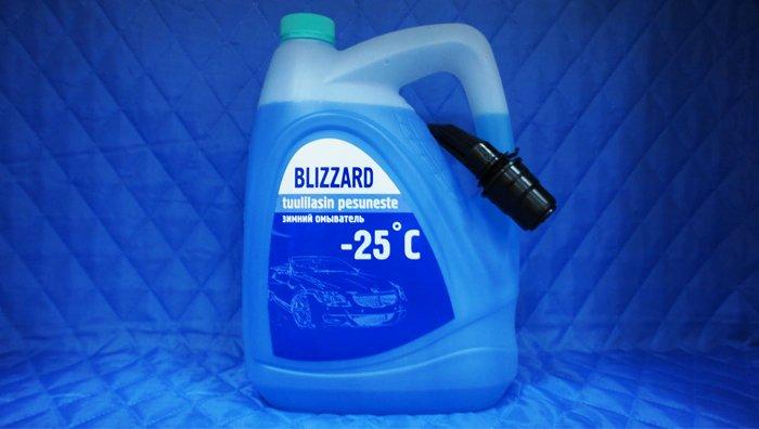Как сделать зимнюю жидкость